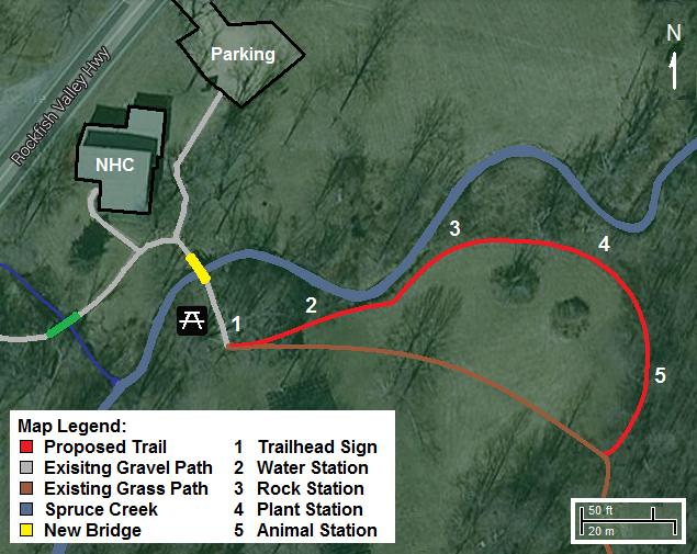RVF Children's Nature Trail Map